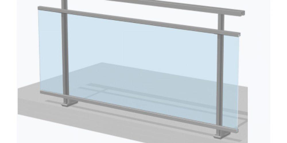 Faire installer un garde corps en aluminium